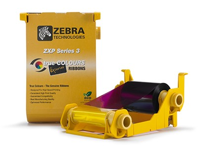 RIBBON ZEBRA ZXP- SÉRIE 3 YMCKO 165 IMAGES 800033-848