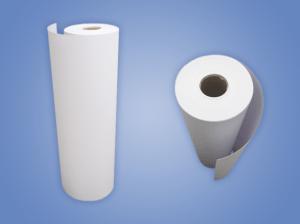 BOBINA PVC BRANCO INKJET 60CMX60MTS 0,18MM